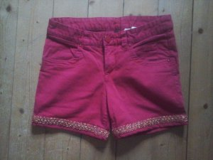 Süsse Shorts rot Stickerei Gr. 36 H&M Divided