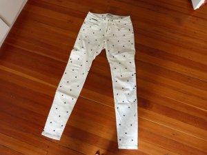 Süsse Skinny Jeans von Maison Scotch mit Sternen