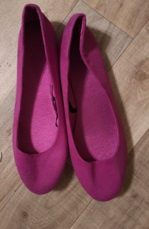 süsse slippers schuhe ballerinas flieder lila gr. 37