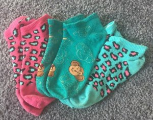 Süße Socken mit verschiedensten Mustern