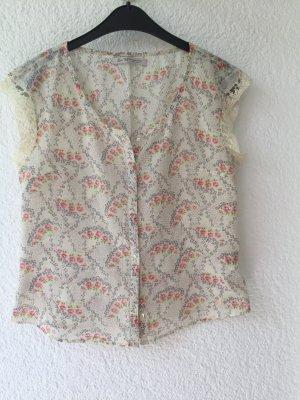 Süße Sommer Bluse mit Spitze, Gr. M. 16,65€