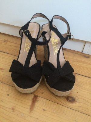 Süße Sommer Sandalen mit Keilabsatz