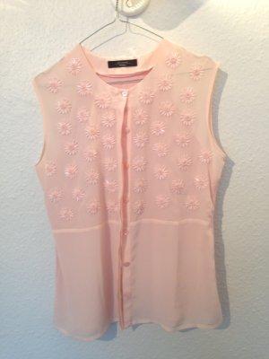 süße Sommerbluse in rosa