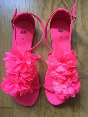 Süße Sommersandalen in 39 und pink