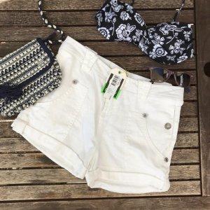 Roxy Pantalón corto blanco