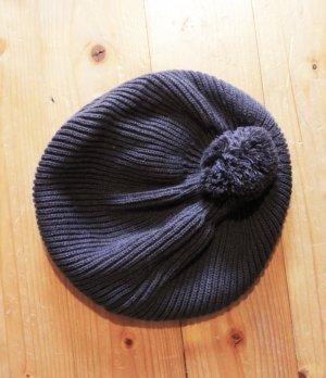 Süße Strick-Mütze mit Bommel - neu!