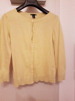 Süße Strickhacke (M) in Gelb von H&M