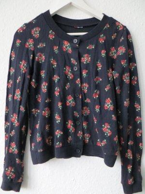 Süße Strickjacke Jacke von H&M Blumen in XS