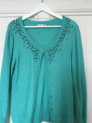 Süße Strickjacke, Mint in L