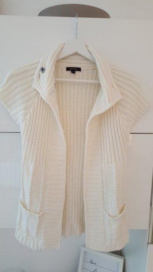 Amisu Veste en tricot blanc cassé