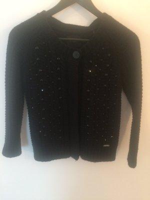 Süße Strickjacke von GUESS. Größe 36 schwarz. Neuwertiger Zustand