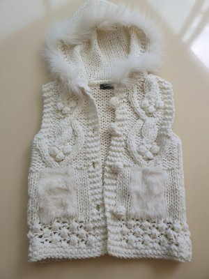 Best emilie Knitted Vest natural white
