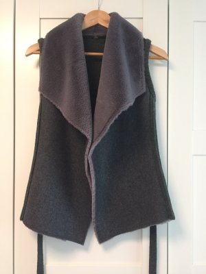 Knitted Vest anthracite