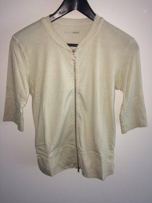 Süße Sweatjacke/Shirt von Marc Cain. Größe N4(40) beige guter Zustand