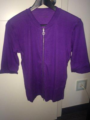 Süße Sweatjacke/Shirt von Marc Cain. Größe N4(40)lila