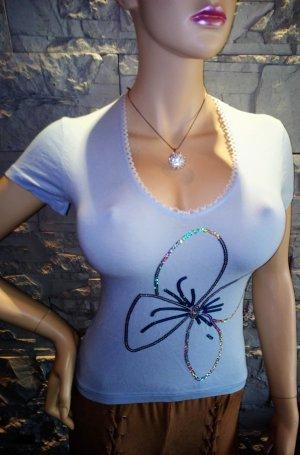 Süsse T-Shirt von ANGIE in gr 36 Blau