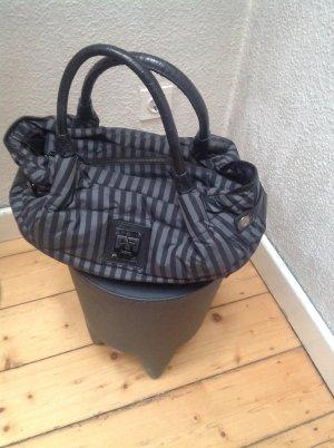Airfield Handbag black-grey mixture fibre