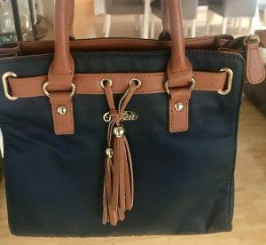 Buffalo Mini Bag brown-blue