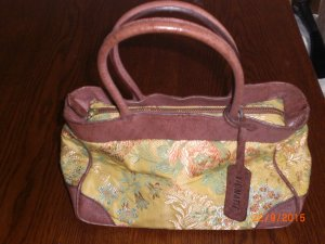 Vic Matie Carry Bag multicolored leather