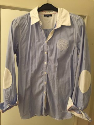 Süße Tommy Hilfiger Bluse in hellblau in Gr. L