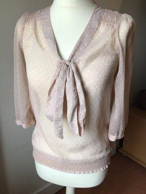 süße transparente Bluse