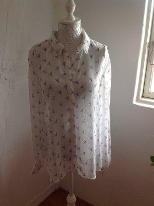 Süße, transparente Bluse von Only Gr. 40