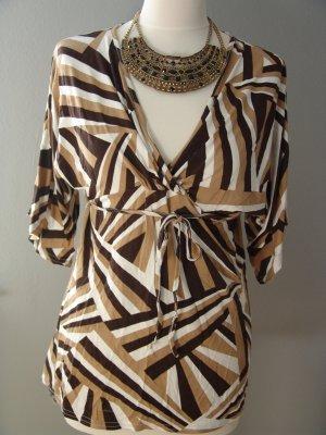 °°°Süße Tunika Bluse, Shirt, Afro-Print, L, neuwertig°°°