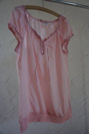 ♥ Süße verspielte rosa Bluse ♥