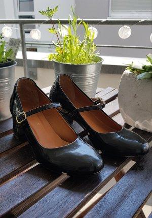 Süße vingage schwarze Absatzschuhe/High Heels