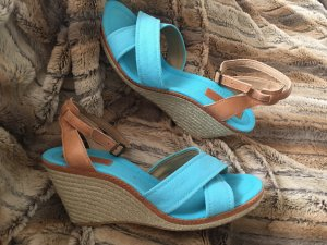 Marc O'Polo Wedge Sandals baby blue