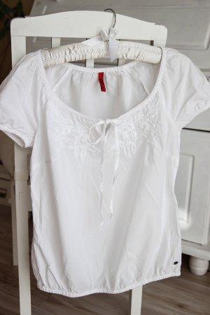 Süße weiße Bluse, 36/38