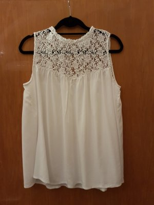 süße weiße Bluse *wie neu*