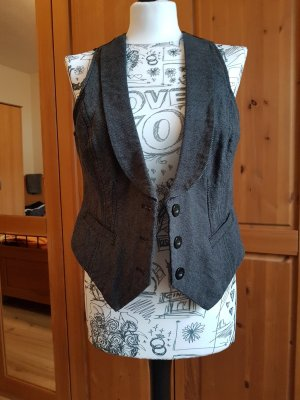 Colours of the World Waistcoat black-dark grey