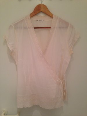 H&M Wraparound Blouse multicolored cotton