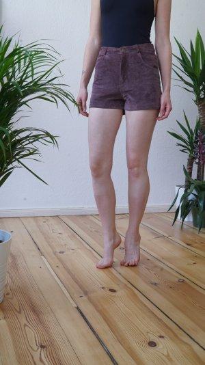 Süße Wildleder-Shorts in Gr. XS von Miss Selfridge.