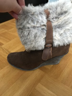 Low boot multicolore faux cuir