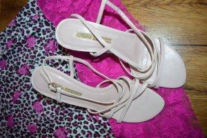 Süße zarte Sommer Sandalette von Buffalo in rose Neu Gr. 39