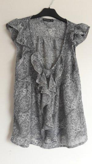 Atmosphere Print Shirt grey-black