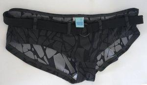 Costume boxer nero-grigio scuro Poliestere