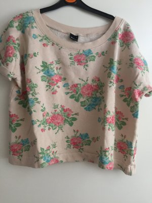 Süßer Blumen Pullover in Größe S