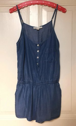 Süßer Champbray Jumpsuit Jeans/Denim-Look Jumpsuit Gr. M Lovestitch Forever 21