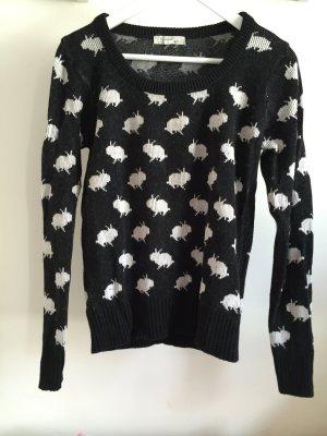 süßer Forever 21 Pullover mit Hasenprint