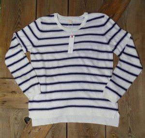 Esprit Sweater wolwit Gemengd weefsel