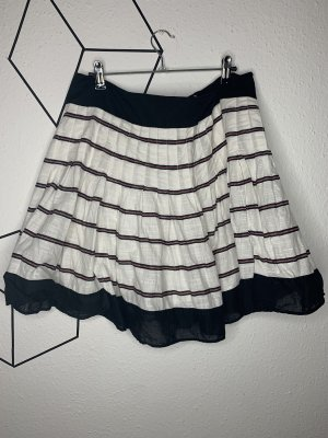 Balloon Skirt white-black