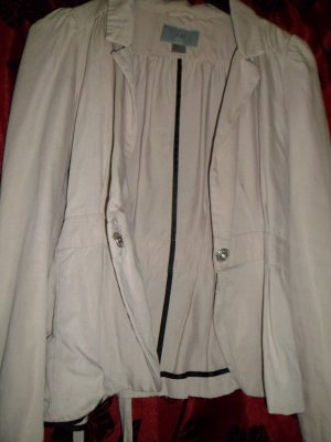 Süßer H&M Blazer,nude, Peplum, Gr. 34/XS