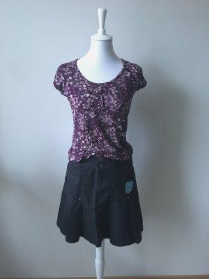 Esprit Plaid Skirt black-turquoise