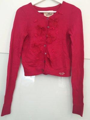 Süßer Hollister Cardigan mit Schleifen in pink
