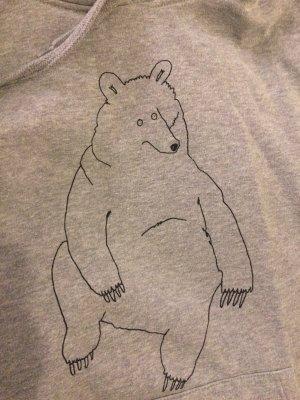 Süßer Hoodie mit Bär Zeichnung von Smallville