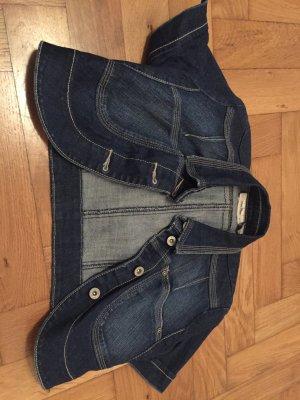 Süßer Jeans-Bolero mit kurzem Arm