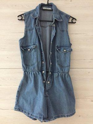 Süßer Jeans Jumpsuit